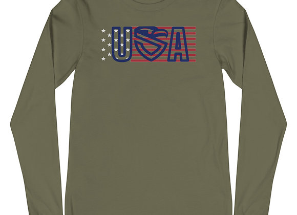 USA Flag Long Sleeve