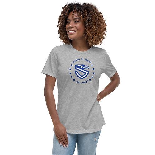 Women's Air Force Shield Relaxed T-Shirt