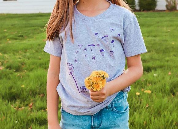 Kiddo Dandelion Paratrooper T-Shirt