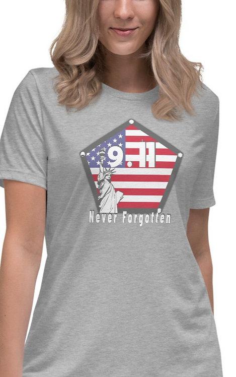 Women's Never Forgotten 9.11 Relaxed T-Shirt