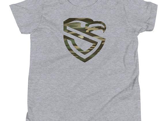 Kiddos Camo Shield T-Shirt