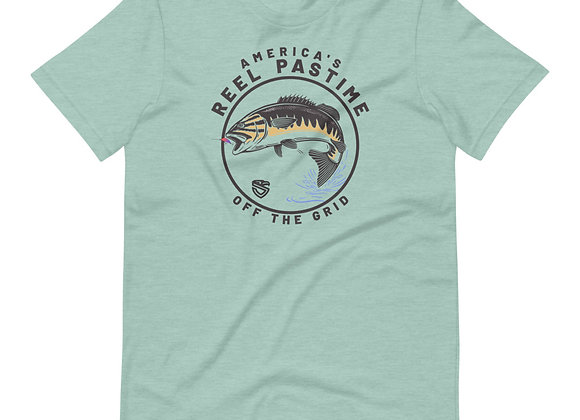 America's Reel Pastime (Bass) T-Shirt