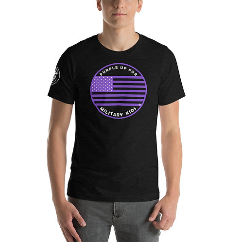 """""""Purple Up for Military Kids"""" Supporter T-Shirt"""