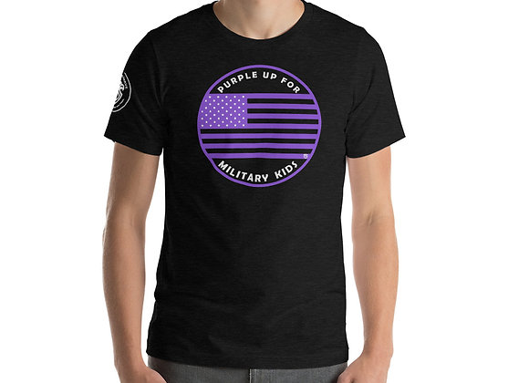 """Purple Up for Military Kids"" Supporter T-Shirt"