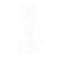 Box Of Cats Text Logo