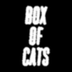 Box Of Cats Text Logo