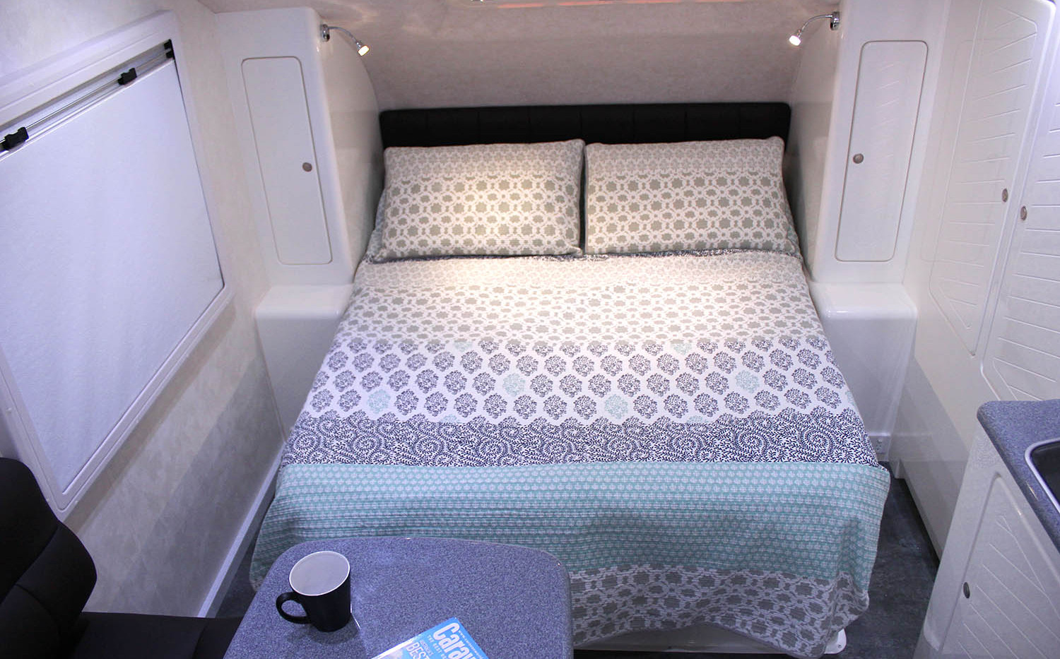 Double Bed Layout