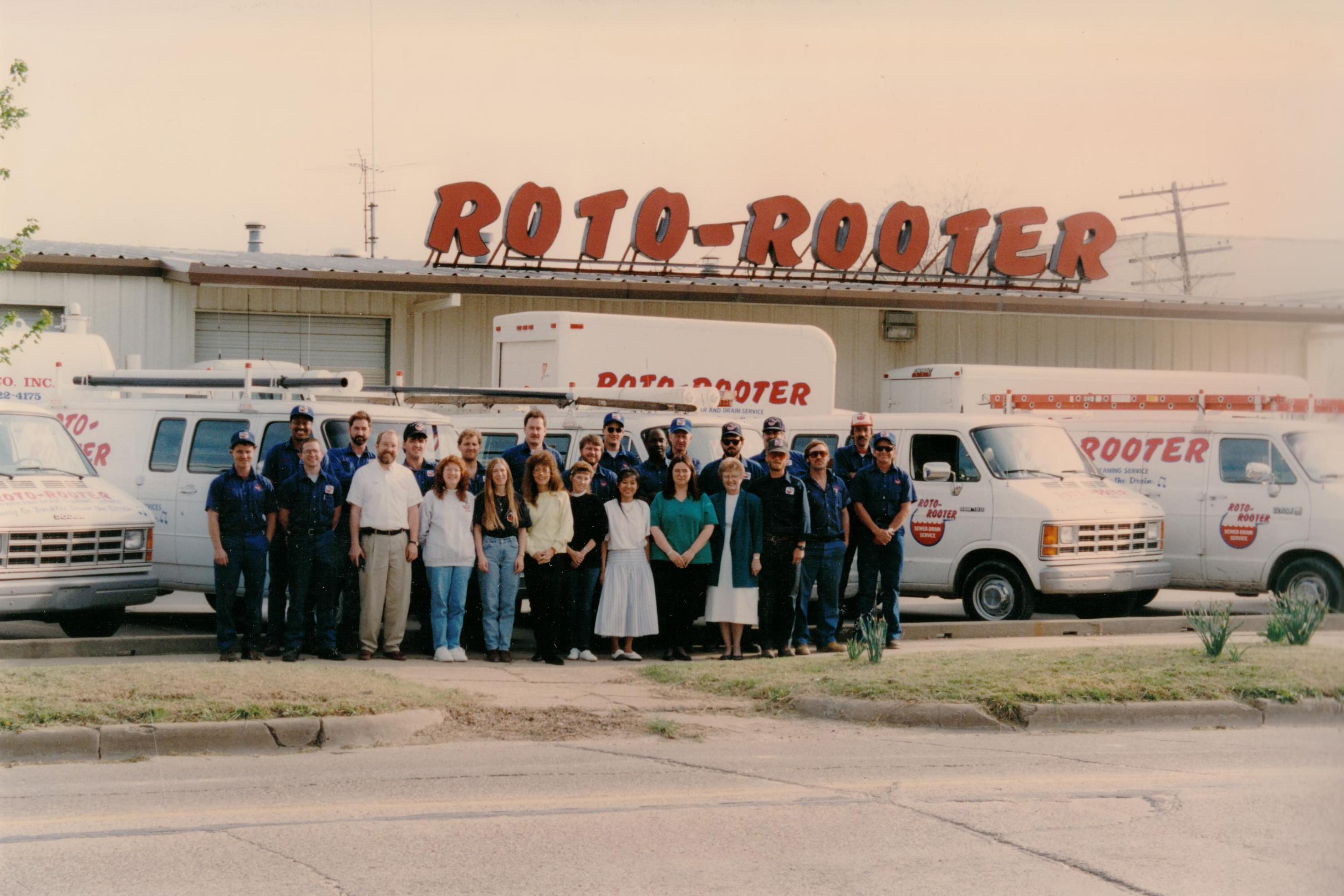 Staff Circa 1990