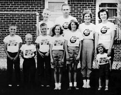 Paul, Wanda, and Children