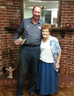 Ray and Wanda - 45 years