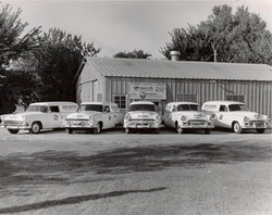 Roto-Rooter Fleet 1960