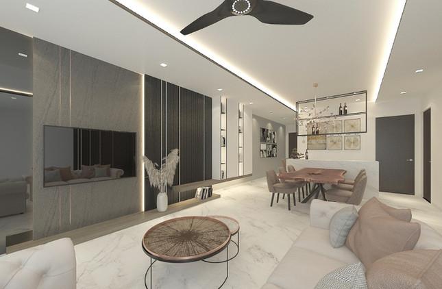 Chop Heng Long Interior Design Living Room