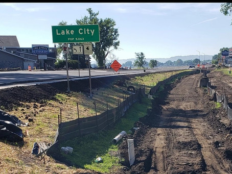 Update on Lake City Stormwater Clean Water Fund Project