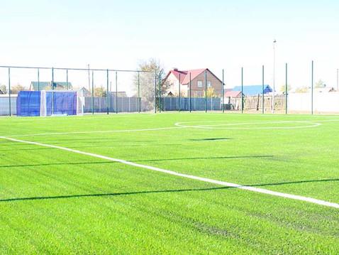 В Оренбуржье оборудовано четвёртое поле с искусственным покрытием для игры в мини-футбол