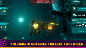 Sci-fi Rogue-lite Crying Suns is This Week's Epic Games Store Freebie
