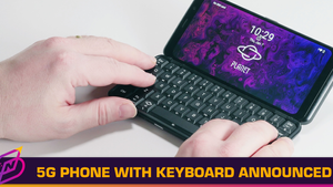 Astro Slide Announced as the First 5G Phone with a Physical Keyboard