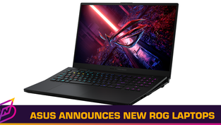 ASUS Announces New ROG Gaming Laptops and Fashion Accessories, Teases Future RTX 3050 Options
