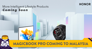 HONOR MagicBook Pro and Watch GS Pro Coming To Malaysia Very Soon