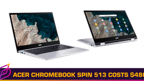 Acer Chromebook Spin 513 with Qualcomm Snapdragon 7c Has Starting Price of US$480