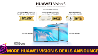 HUAWEI Offering New Deals for Vision S Smart Screens