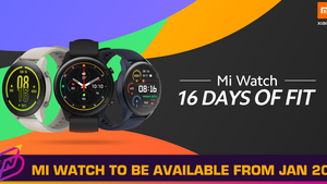 Mi Watch to be Purchasable in Malaysia from January 20