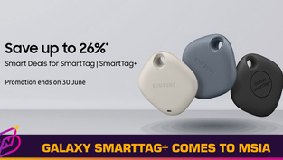 Galaxy SmartTag+ Arrives in Malaysia with Promo Period