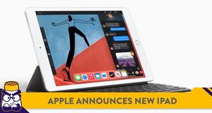 Apple Announces 8th-Gen iPad