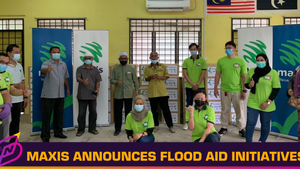 Maxis to Distribute SIM Packs and Food Boxes Among Other Flood Aid Initiatives