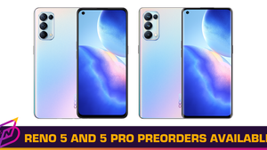 OPPO Reno 5 and Reno 5 Pro Now Available for Pre-Order in Malaysia