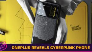 OnePlus Reveals Cyberpunk 2077-Themed Smartphone