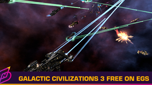 "4X Space Game ""Galactic Civilizations 3"" is Free on Epic Games Store"