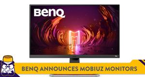 BenQ Announces New MOBIUZ Gaming Monitors