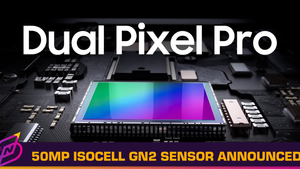 Samsung Announces 50MP ISOCELL GN2 Sensor with Dual Pixel Pro