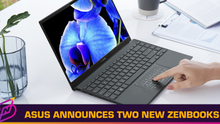 ZenBook Pro Duo 15 OLED and ZenBook 13 OLED Announced