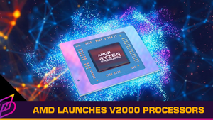 AMD Launches Ryzen Embedded V2000 Series Processors