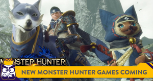 Two New Monster Hunter Games Are Coming To The Switch In 2021