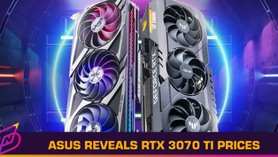 Here Are the Prices for ASUS' RTX 3070 Ti Cards