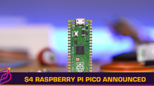 US$4 Raspberry Pi Pico Microcontroller Announced