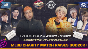MLBB 2020 Singapore Charity Showmatch Raises Over SGD 20,000