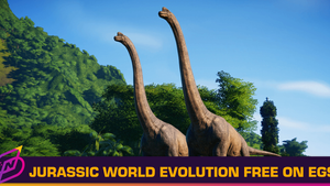 Jurassic World Evolution is Epic Games Store's First Weekly Free Game of 2021