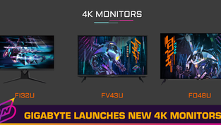 GIGABYTE Launches AORUS 4K Gaming Monitors with HDMI 2.1