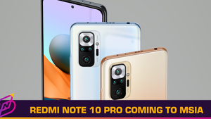 Redmi Note 10 Pro and Note 10 Available in Malaysia Soon