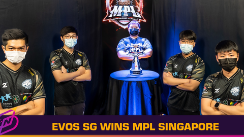 EVOS SG Wins MPL Singapore, the Country's First MLBB Pro League