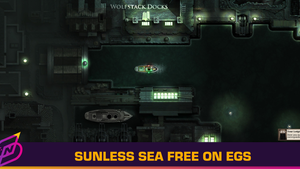 Victorian Gothic RPG Sunless Sea Free on Epic Games Store This Week