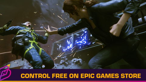 Get Remedy's Control for Free on the Epic Games Store