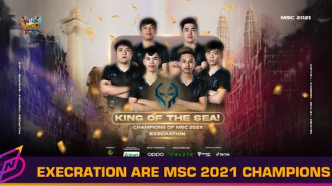 Execration Wins Mobile Legends: Bang Bang Southeast Asia Tournament