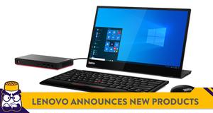 Lenovo Announces New ThinkCentre Desktops and Mobile Monitor
