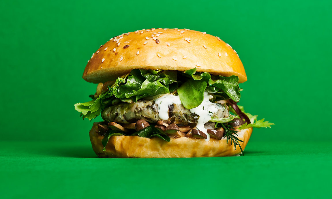 Cultiv.Ate Shiitake, Seeweed and Edamame burger patty