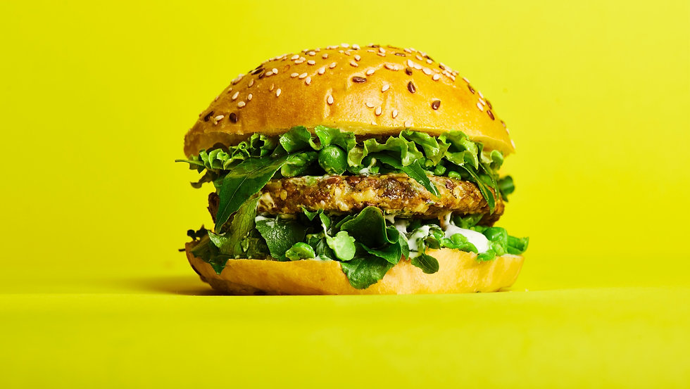 Cultiv.Ate Lentil, Pea and Tumeric burger patty