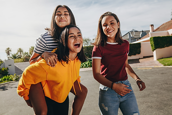 Girls learning social skills, Powerful Kids